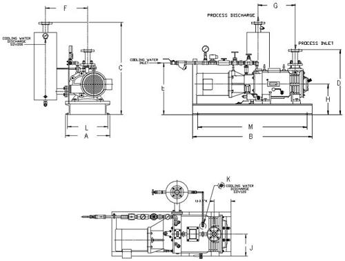 Схема насоса SDV-120 SDV-200